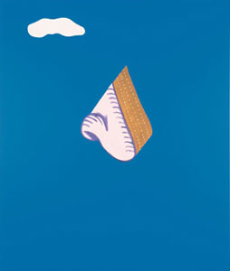 John Baldessari God Nose 1965