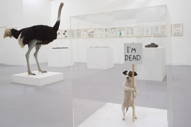 David Shrigley Brain Activity