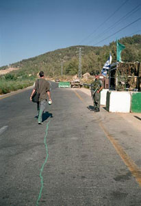 Francis Alÿs The Green Line