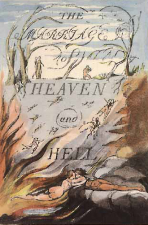 William Blake Marriage of Heaven and Hell