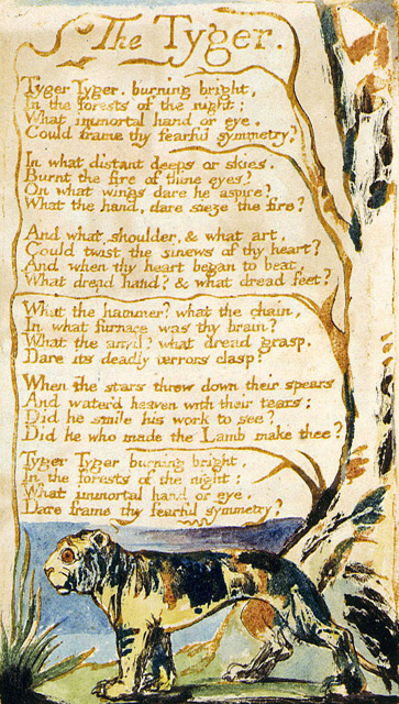 William Blake Tyger