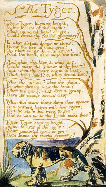 William Blake Tyger