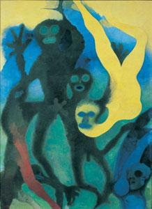 Edward Burra Frogmen 1959-1961