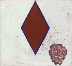 Prunella Clough Ceramic Rose 1996