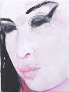 Marlene Dumas Amy - Pink 2011
