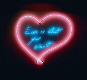 Tracey Emin Love is what you Want 2011
