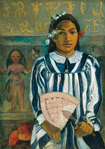Gauguin Teha 'amana has many Parents 1893