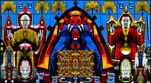 Gilbert and George 'fates' 2005