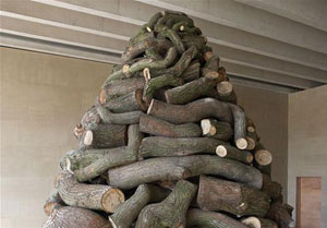 Andy Goldsworthy Stacked Oak 2007