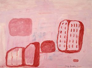 Philip Guston Untitled (Book Ball and Shoe) 1971