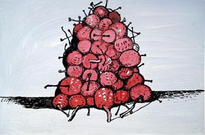 Philip Guston Untitled (Cherries) 1980