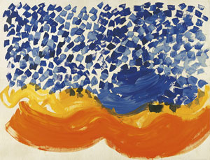 Howard Hodgkin Where Seldom is Heard a Discouraging Word 2007-08