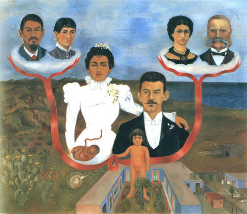 Frida Kahlo My Grandparents, My Parents and I 1936