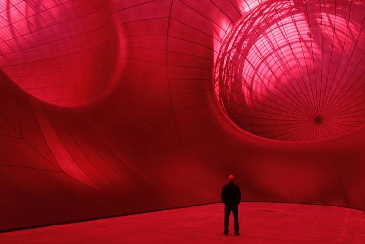 Anish Kapoor Monumenta 2011 Installation