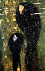 Gustav Klimt Water Nymphs, 1899