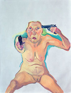 Maria Lassnig You or Me 2008