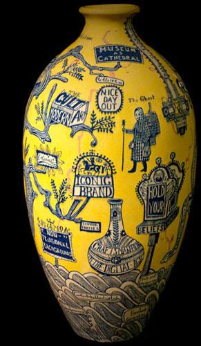 Grayson Perry Rosetta Vase 2011