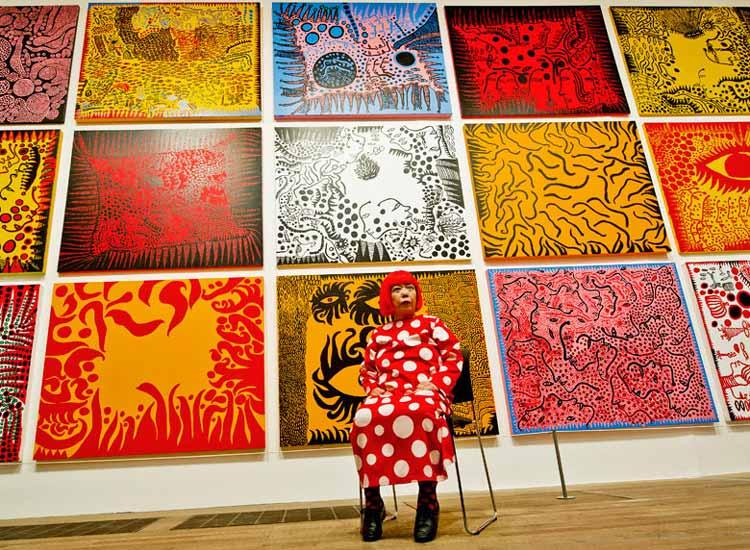 Yayoi Kusama Tate Modern