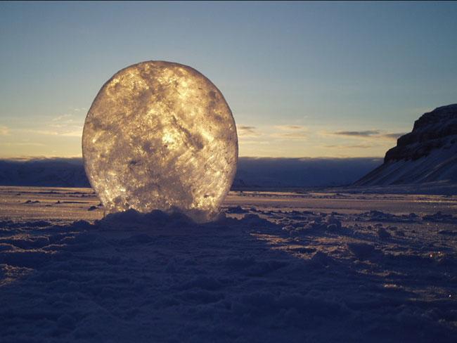 Heather Ackroyd and Dan Harvey Cape Farewell Project Ice Lens