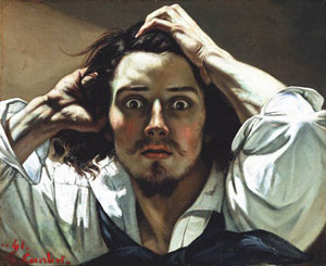 Gustave Courbet Self-Portrait
