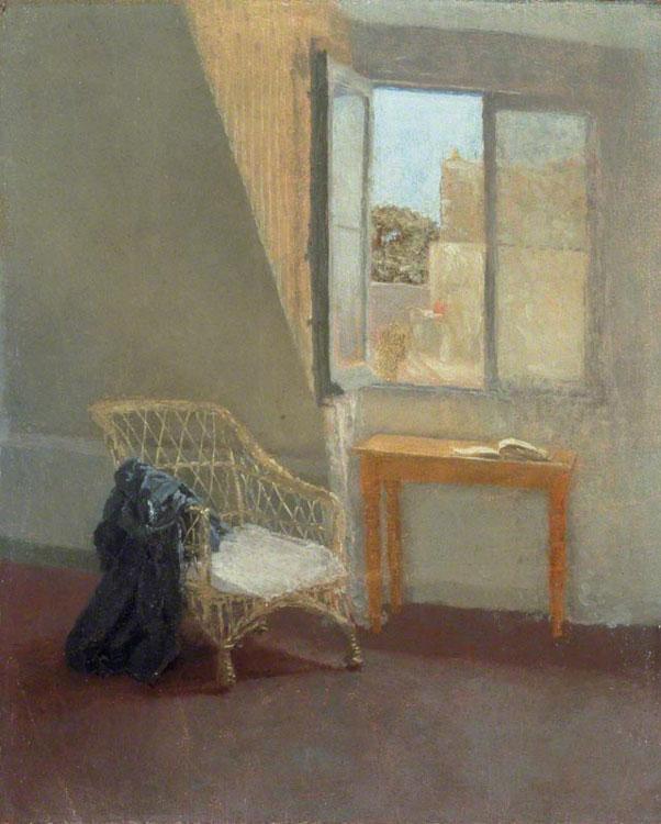 Gwen John A Corner Of The Artist's Room In Paris (With Open Window), 1907-1909