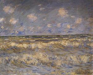 Monet Rough Sea 1881