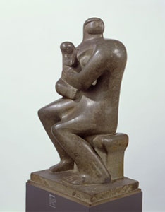 Henry Moore Mother and Child 1932