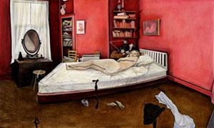 Ishbel Myerscough Red Bedroom 2003