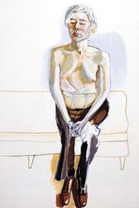 Alice Neel Andy Warhol, 1970