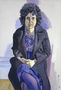 Alice Neel Dorothy Pearlstein 1973