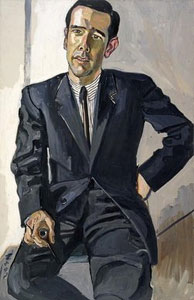 Alice Neel Ned McCabe 1964