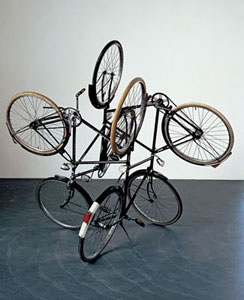 Gabriel Orozco Four Bicycles