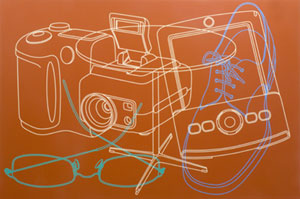Michael Craig-Martin Untitled (Self Portrait No.6) 2005