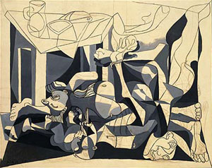 Picasso The Charnel House, 1945