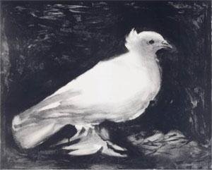 Picasso Dove (La Colombe), 1949