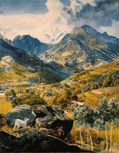 John Brett Val d'Aosta, 1858