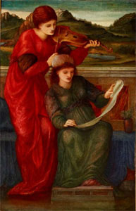 Edward Burne-Jones Music, 1877