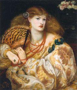 Dante Gabriel Rossetti Monna Vanna, also known as Belcolore, 1866