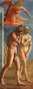 Masaccio Masaccio The Expulsion fom the Garden of Eden