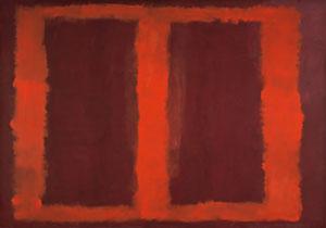Rothko Sketch for Mural 4 1958