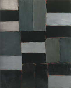 Sean Scully Black Moon 2006