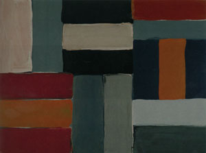 Sean Scully Small Blue Light Wall 2006