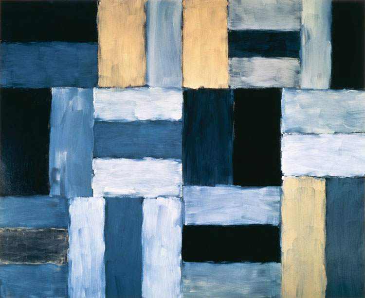 Sean Scully Wall of Light Desert Night 1999