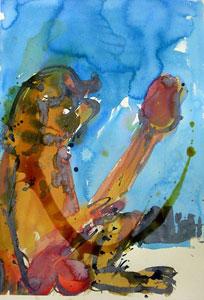 Gregory Smart Painter on the Edge of Town Rudi II 2009