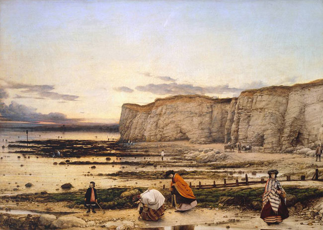 William Dyce Pegwell Bay, Kent - a Recollection of October 5th, 1858 1858-60