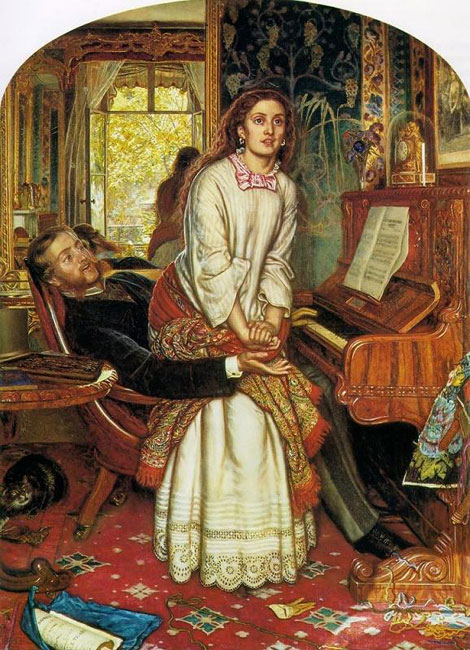 William Holman Hunt The Awakening Conscience 1853