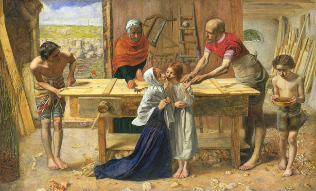 John Everett Millais Christ in the House of His Parents (The Carpenter's Shop) 1849-50