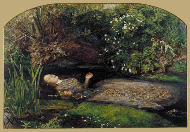 John Everett Millais Ophelia 1851-2