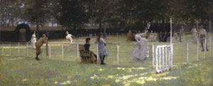 John Lavery The Tennis Party 1885