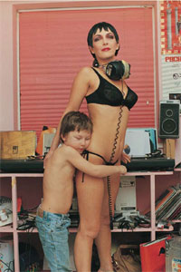 Wolfgang Tillmans Rachel Auburn & son 1995